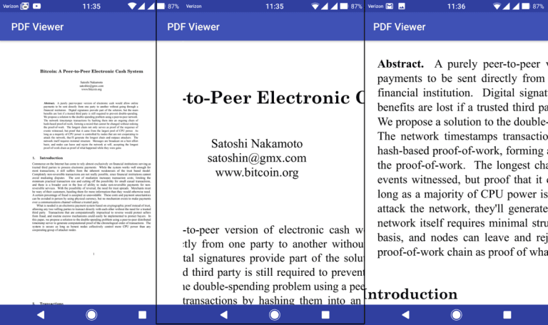 How to open PDF file in Android Programmatically